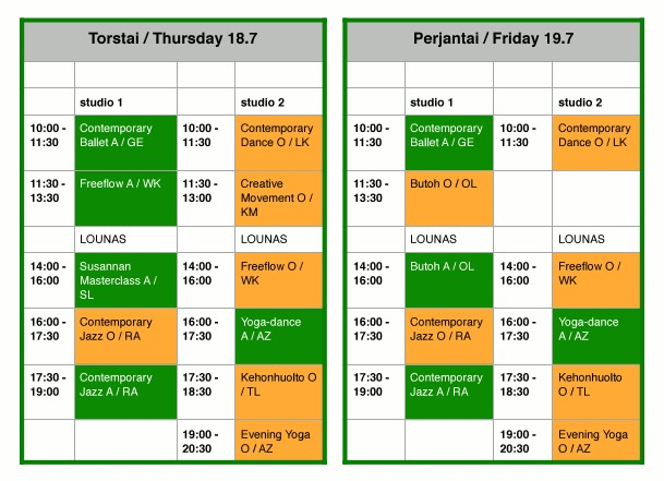 Timetable_Thu Fri_2019